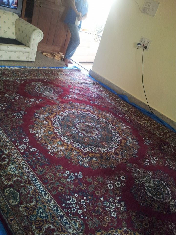 Rug cleaning service Bangalore | Clean Fanantic