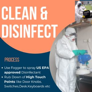 Office Disinfection Service Bangalore